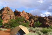 Campground Details - Snow Canyon State Park, UT - ReserveAmerica on recapture canyon ut map, bryce canyon ut map, fremont indian state park ut map, starvation state park ut map,